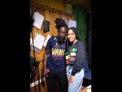 Tosh Alexander grateful for Sizzla's stamp of approval.