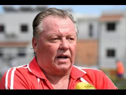 Mount Pleasant head coach Walter Downes