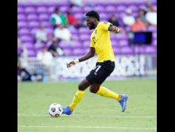 Shamar Nicholson ... scored brilliant goal for Jamaica.