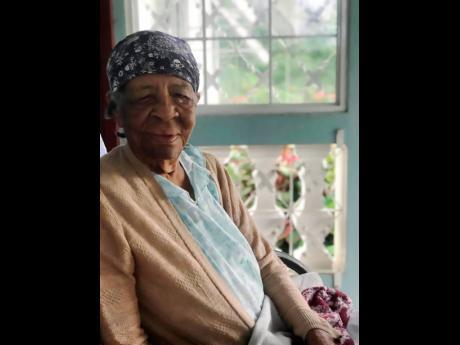 Porus, Manchester resident Violet Dwyer, also called Aunt Vie.