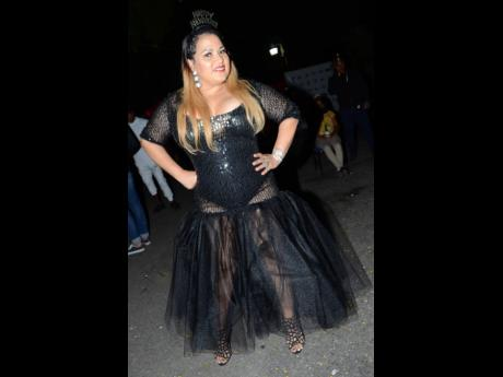Dancehall Queen Carlene.